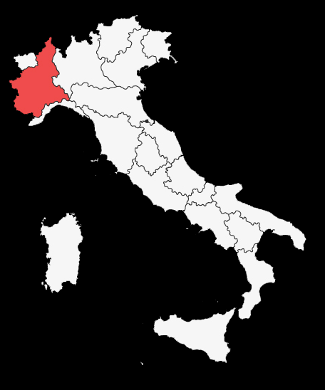 Cascina-Ghercina Map